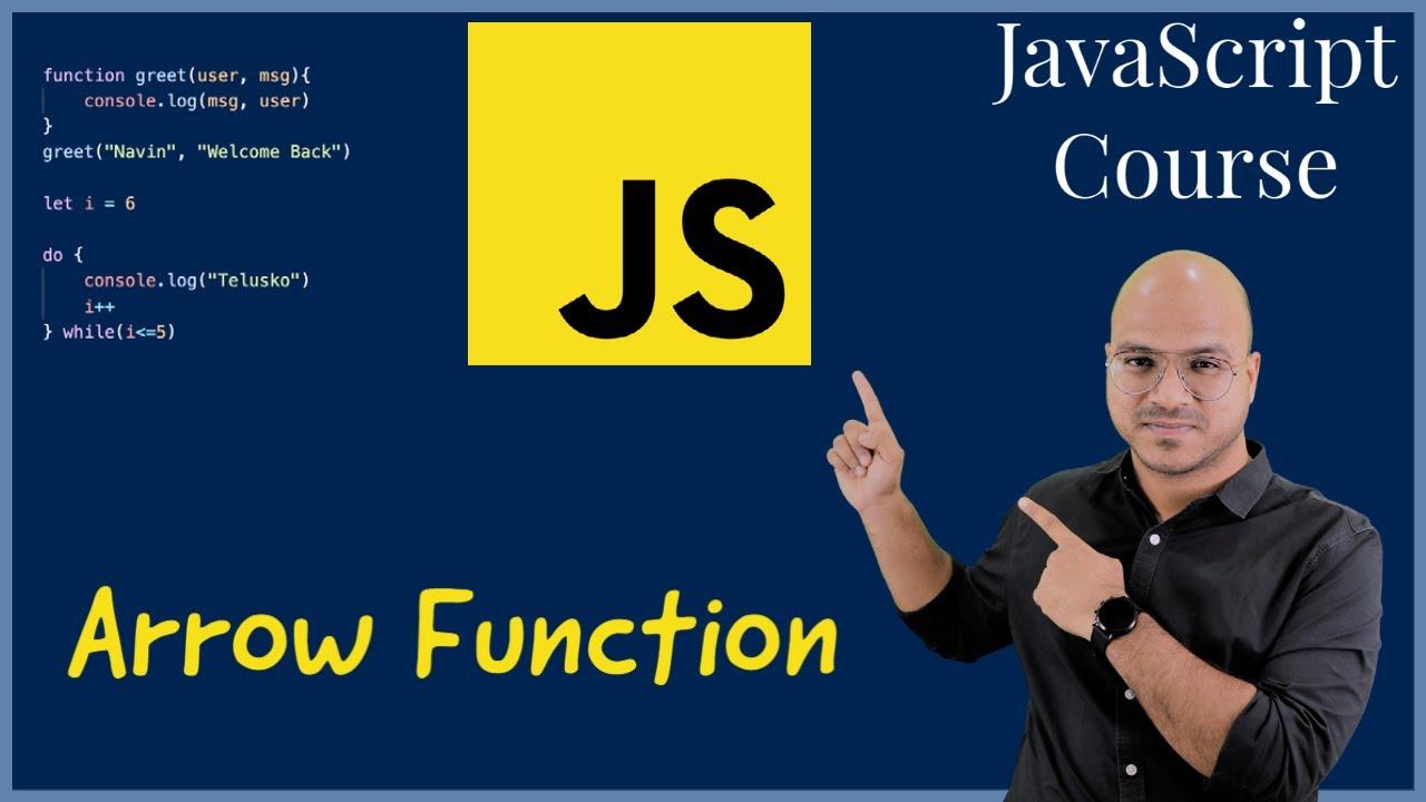 Arrow function in JavaScript
