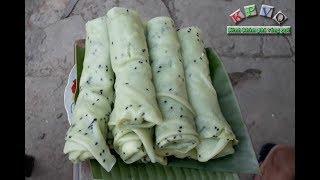 Tráng bánh đón Tết cổ truyền ở miền Tây - Khám phá vùng quê