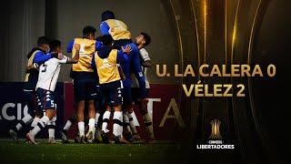 Unión La Calera vs. Vélez [0-2]   RESUMEN   Fecha 3   CONMEBOL Libertadores 2021