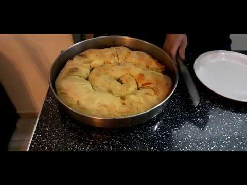τυρόπιτα χωριάτικη συνταγή