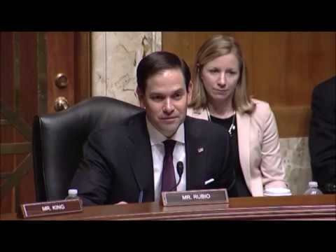 Rubio Says Human Rights Must Remain a Key Pillar of U S  National Security