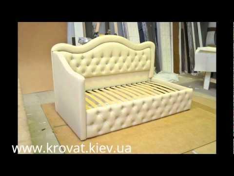 Детский диван с пуговицами - youtube