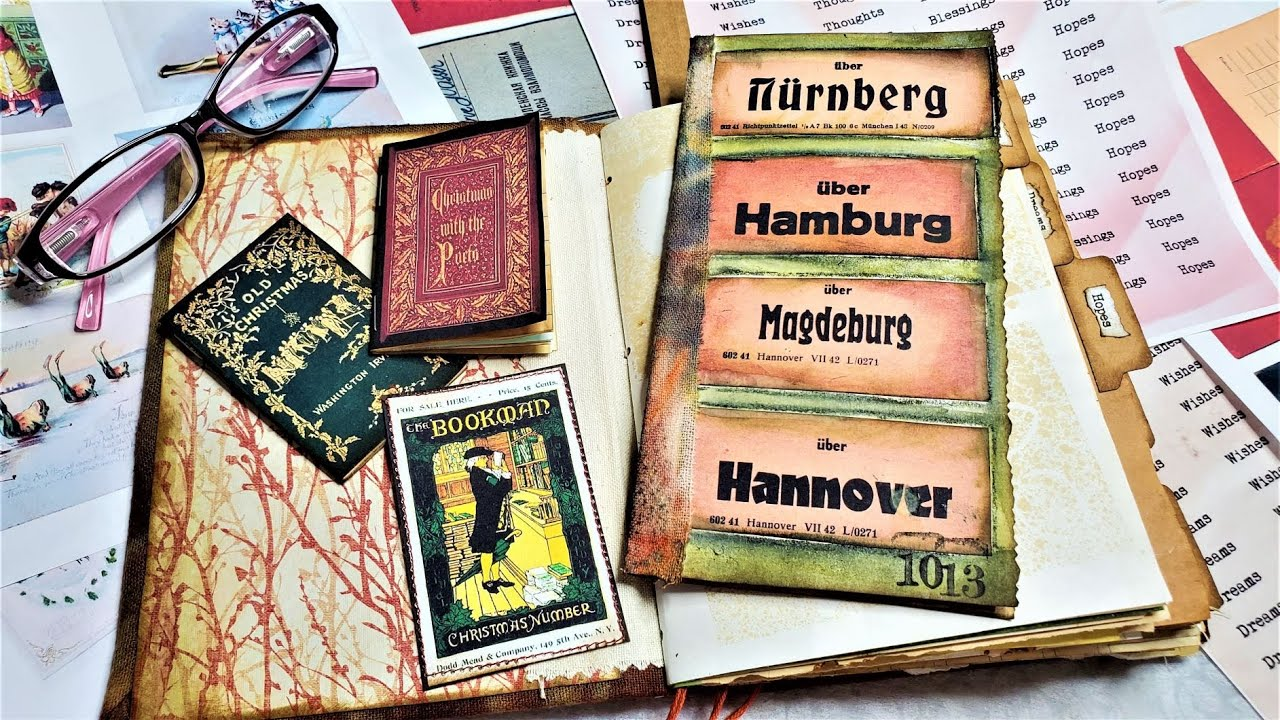 Junk Journal! NEW AUGUST DIGIKITS! PLUS Examples in Junk Journals! WOW! :)The Paper Outpost!! :)