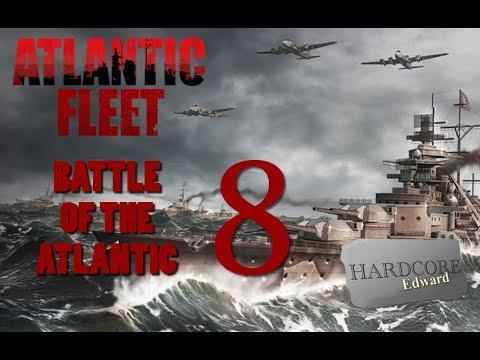 Atlantic Fleet [Blind] Part 8 PC Gameplay / Let's Play  HD 1080p DD Dolby Digital