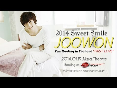 2014 Sweet Smile JOOWON Fan Meeting in Thailand  FIRST LOVE