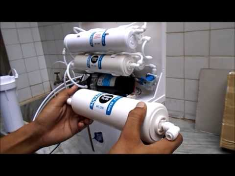 Filter cartridges Installation & RO service - Two Carbon and One sediment filter