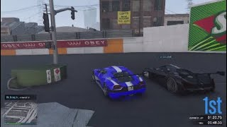 "GTA Racing Inc.: A fight to the end with GameFreaks9540 on ""The South Central Raceway"" by DJ_BIG_L"