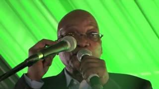 AU Chairperson Dr Nkosazana Dlamini Zuma thanks giving ceremony   3rd May 2014, BULWER, KwaZulu Nata