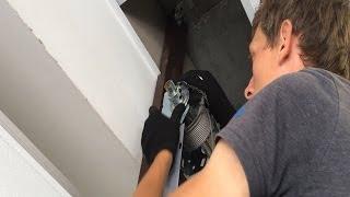 видео комплект секционных ворот doorhan