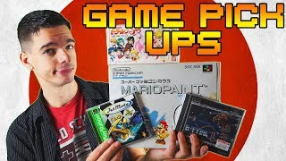Game Pickups: Mario Paint and more!