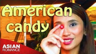 A Filipina Tries American Junk Food...