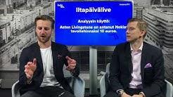 """""""Aston Livingstone: Nokian tavoitehinta 10 euroa?"""" - muistakaa lähdekritiikki!"""