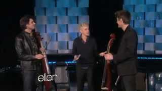 2CELLOS  Welcome To The Jungle (Live on Ellen Degeneres)