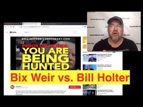 Bix Weir vs. Bill Holter on Cryptos vs. Gold!