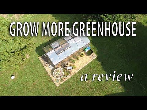 My three season greenhouse- a year later!