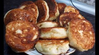 УНИВЕРСАЛЬНЫЙ РЕЦЕПТ ОЛАДЬИ ДРОЖЖЕВЫЕ сколько ни готовь хватает на 5 минут | Tasty pastries recipe