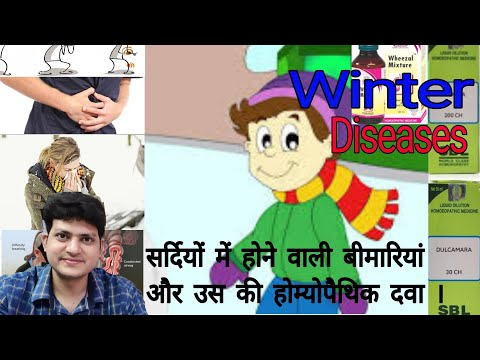 Top Homeopathic Medicine For Common problems in winter ? explain !