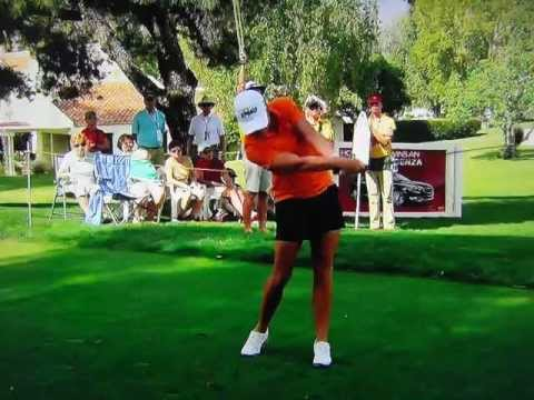 Stacy Lewis - 161 Yard 6-Iron Slow Motion