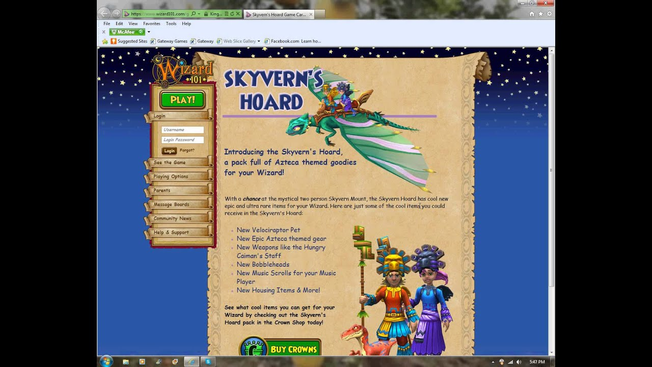 Wizard101 Skyvern Hoard Pack Keyword Data - Related