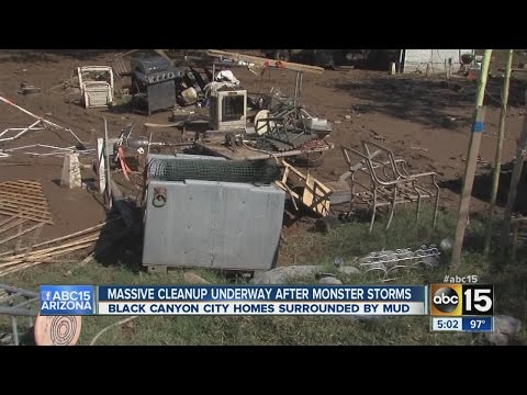 Black Canyon City pummeled by monsoon storm