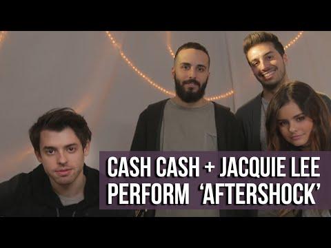 Cash Cash & Jacquie Lee - 'Aftershock' (Acoustic Live Performance)
