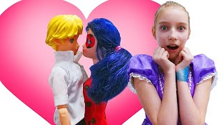 Кого выберет Леди Баг: Адриана или Супер-Кота?! —Принцесса София икуклы устроили свидание!