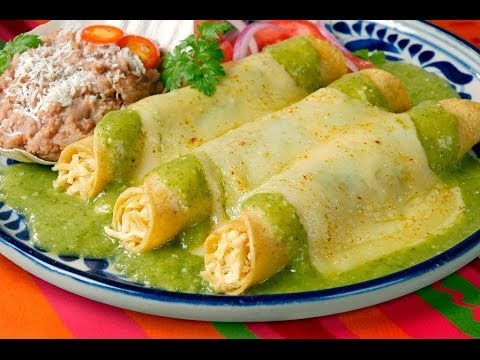 Delicious and Easy Enchiladas Suizas Recipe 2018