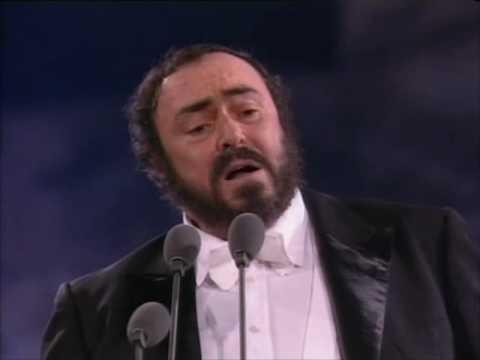 Pavarotti- Rondine Al Nido- Roma 7/7/1990