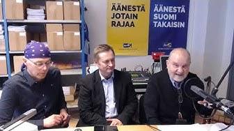 Radio Vapaa Helsinki - Josa Jäntin haastattelu 5.3. 2019 - taitettu indeksi  ja työeläkejärjestelmä
