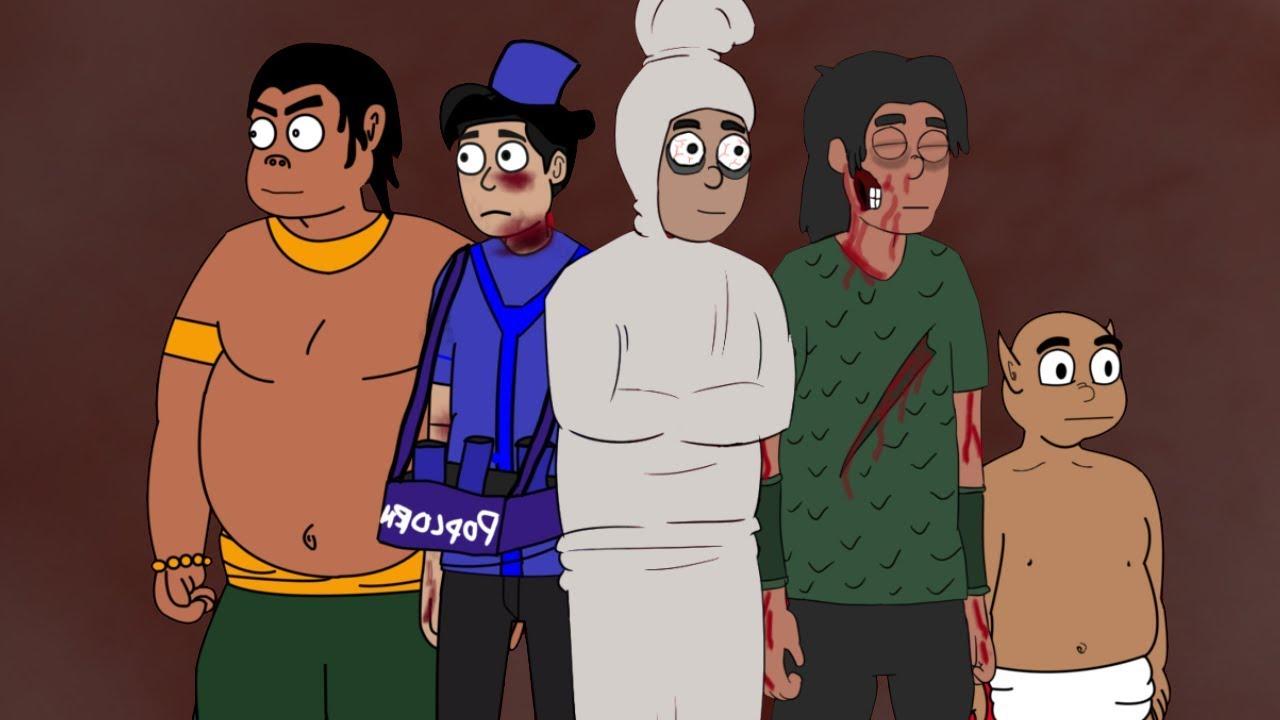 Kompilasi Kartun Hantu Lucu Kartun Horor Lucu Pocong Gendurewo Tuyul