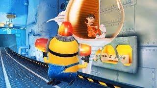Despicable Me Minion Rush : Bee-do Minion Vs The Vector ! Throwing Drones