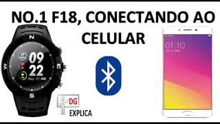 CONECTANDO SMARTWATCH F18 AO APLICATIVO HPLUS.