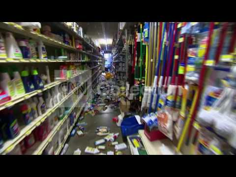 CA EARTHQUAKE:INSIDE NAPA BUSINESS(DAMAGE)