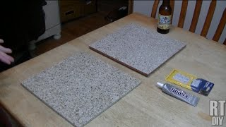 Turn A Tile Into A Trivet!  Great Holiday Gift Idea!  Rick's Tips