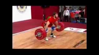 Мужчины 85 кг Рывок ЧМ-2013
