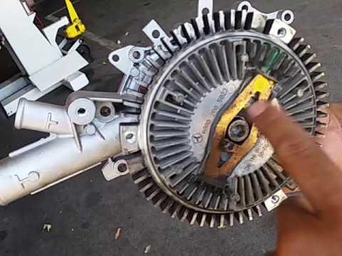 Mercedes Benz Sprinter Waterpump Replacement Youtube