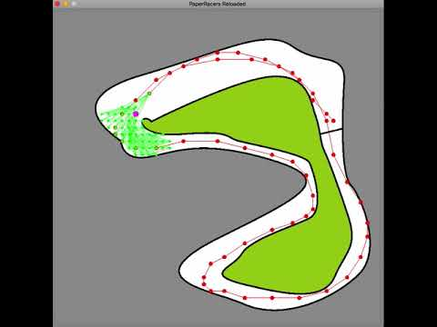 PaperRacers Reloaded - AI Brute force tree search.