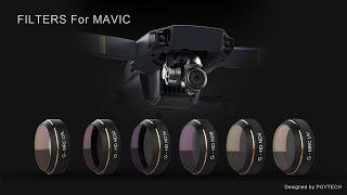 Dji Mavic PgyTech CPL filter