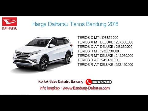 Harga Daihatsu Terios 2021 Bandung Promo Kredit 082127725181