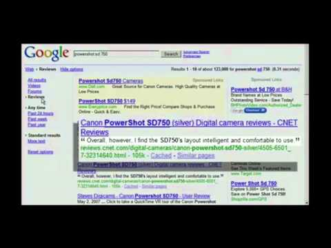 Web Search Strategies for Research