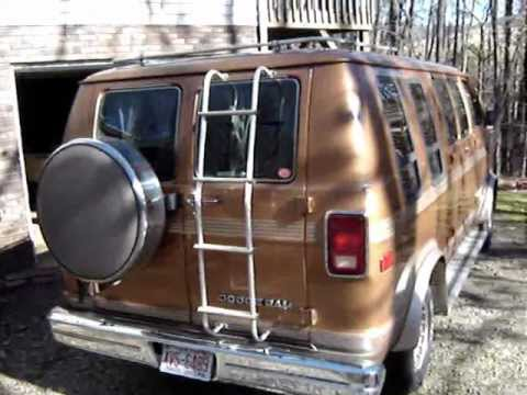 1986 Dodge Van For Sale Youtube
