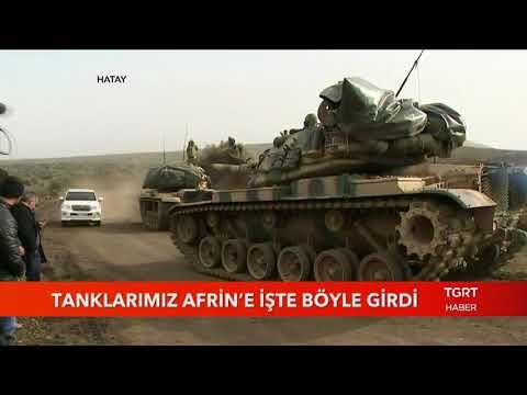 Tanklarımız Afrin'e İşte