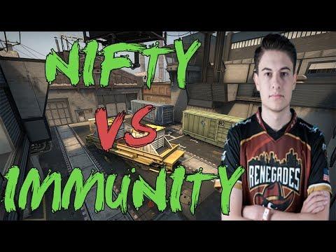 CSGO: POV RNG Nifty vs Immunity (27/8) train @ Asia Minor - PGL Major Krakow 2017