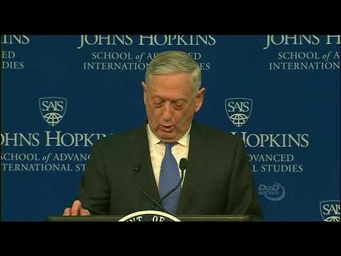 U.S. Secretary of Defense Announces National Defense Strategy