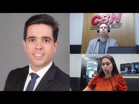 Entrevista CBN Campo Grande (30/03/2020) - Gabriel Haddad, advogado trabalhista