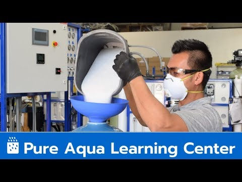 Calcite Media Loading - Pure Aqua Learning Center