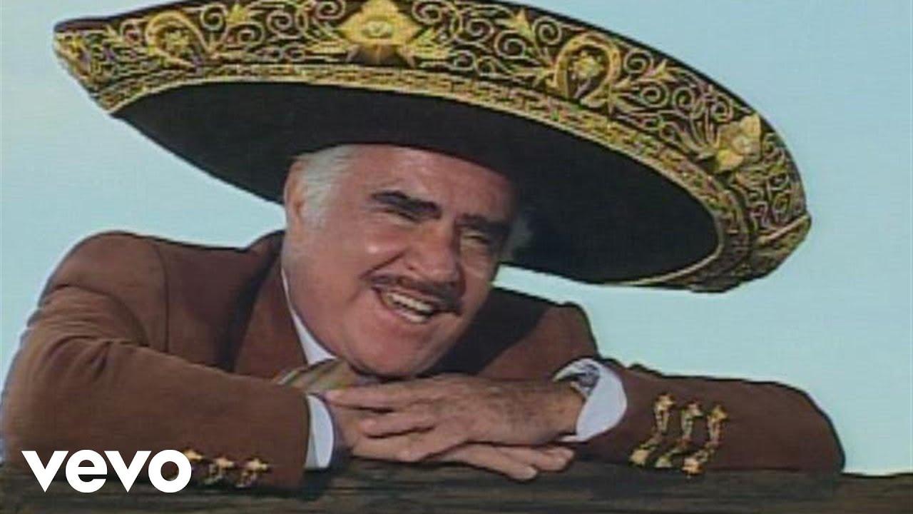 Vicente Fernández Necesito De Ti Youtube