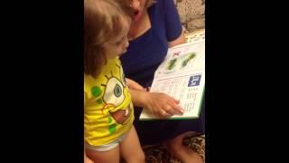 Лера рассказывает алфавит