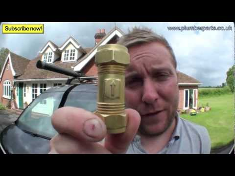 HOW NON RETURN VALVES WORK - Plumbing Tips