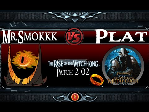 Mordor VS Goblins LotR BFME 2 RotWK 2.02 v.8.0.1 Gameplay commentary - A RTS for Lord of the Rings -